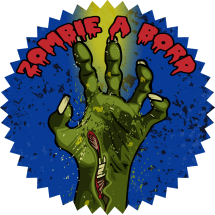 Sticker Main de zombie