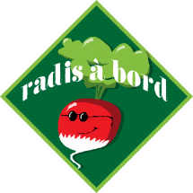 Sticker Radis