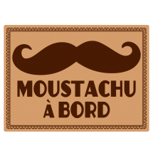 Sticker Moustachu