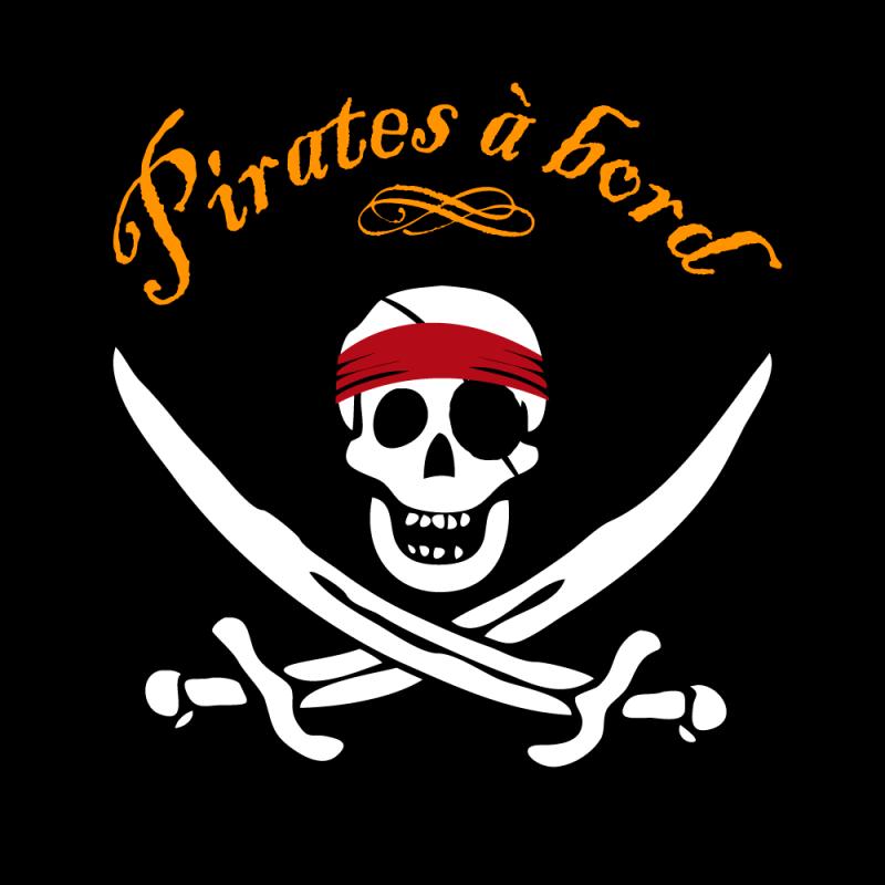 Sticker pirate sticker impression en couleurs quadri - Impression photo gratuite sans frais de port ...