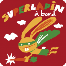 Sticker Superlapin