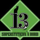 Sticker Superstitieux