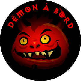 Sticker Démon