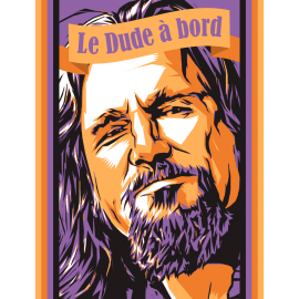 Sticker Le Dude (Big Lebowski)