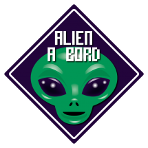 Sticker Alien