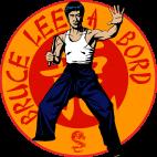Sticker Bruce Lee