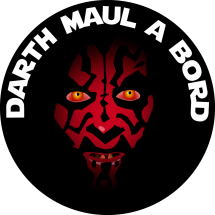 Sticker Darth Maul
