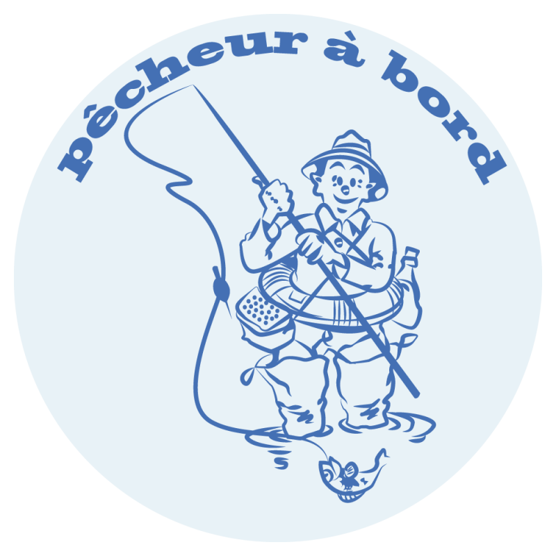 Sticker Pêcheur